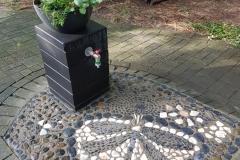 Brunnenpfosten-Kunst